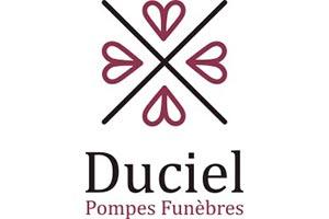 logo prompes funebres Duciel